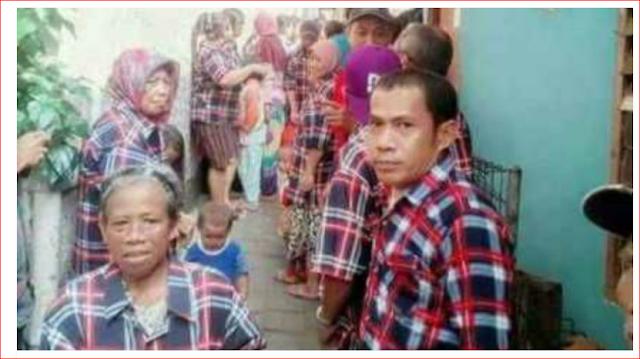 Nah Lho! Anggota DPRD Maluku Utara Kepergok Ikut Bagikan Paket Sembako Ahok-Djarot