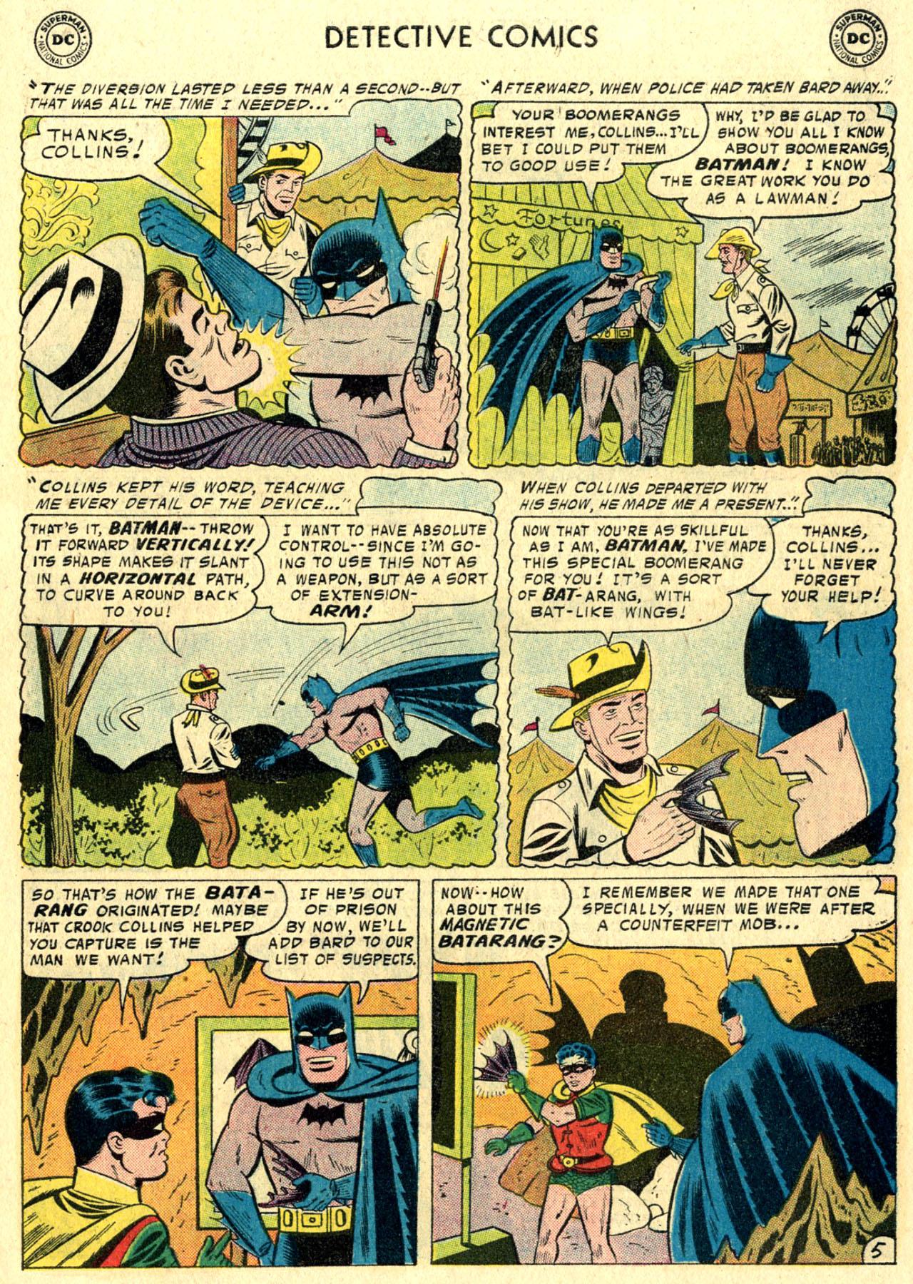 Read online Detective Comics (1937) comic -  Issue #244 - 7