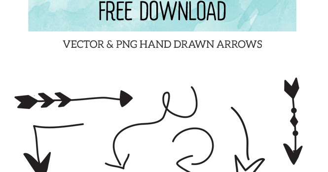 11+ Hand Drawn Arrows For Crafters PNG