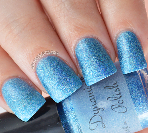 Dynamic Polish Bombshell Blue swatch