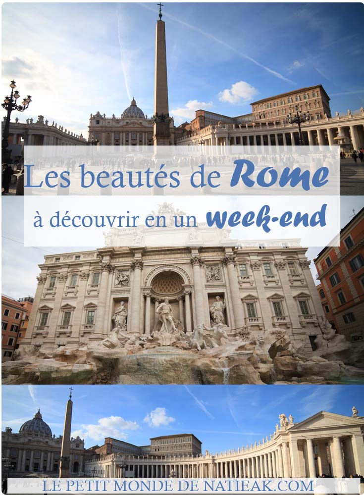 Week-end à Rome : que voir ?