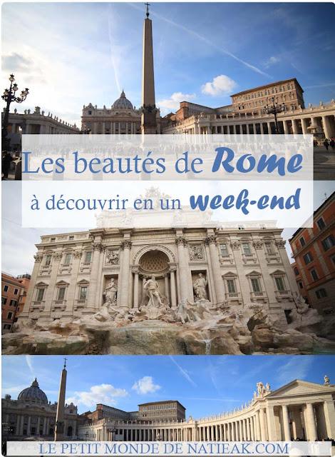 Week-end à Rome : que voir ?