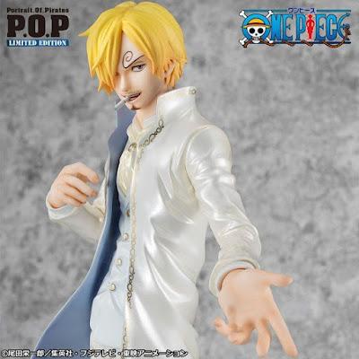 """Figuras: Información del Sanji P.O.P. WD Ver. Limited Edition de """"One Piece"""" - MegaHouse"""