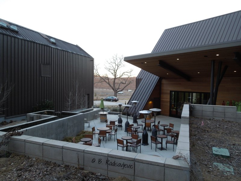 Shale Oak Winery at Dusk
