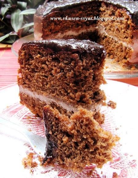 Традиционен руски пирог Медовая коврижка / Traditional Russian Cake Medovaya Kovrijka