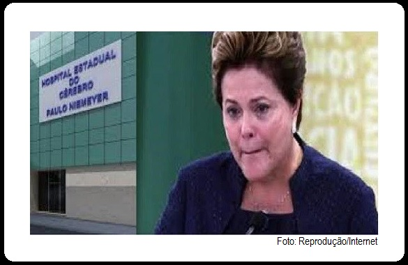 Boato diz que Dilma Rousseff passa mal, é internada e pode morrer.