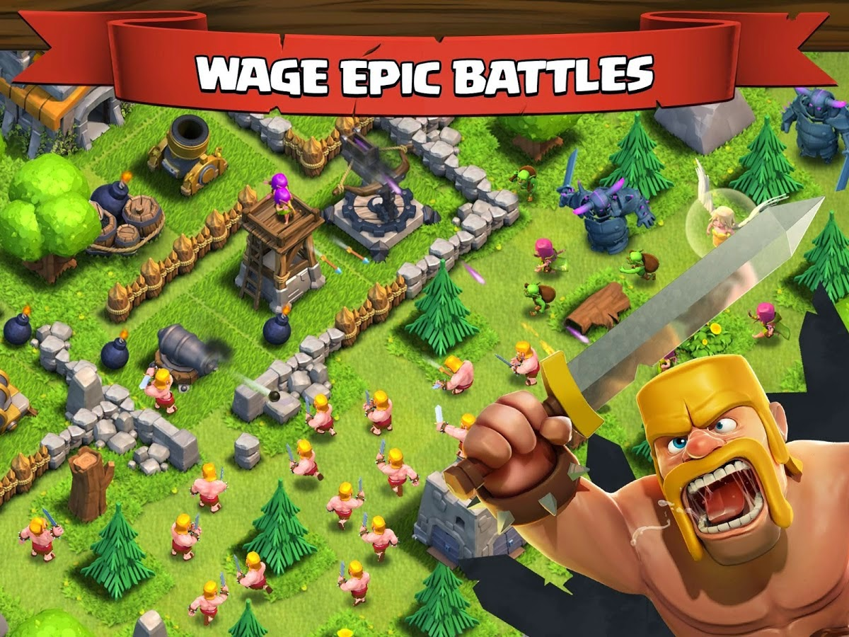game clash of clans logo 3
