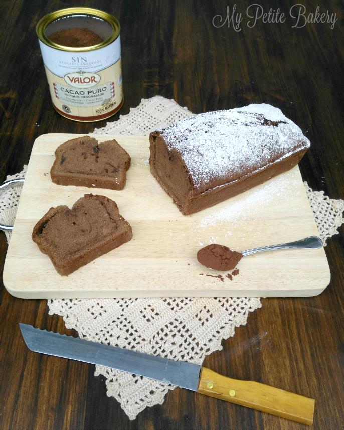 Bizcocho de Chocolate fácil