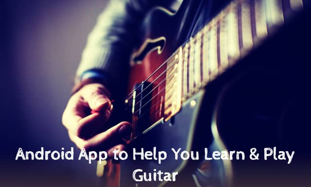 Guitar Learning Apps for Android