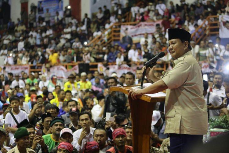 Prabowo Gelar Rapat Akbar Politik Terbesar