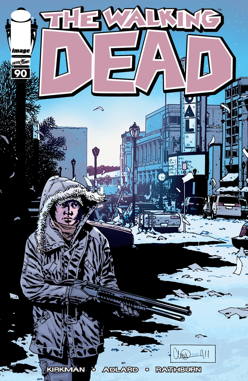 The Walking Dead issue 90 - Page 1