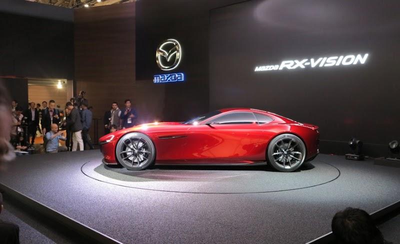 2017 Mazda RX-8 Undergoes new changes