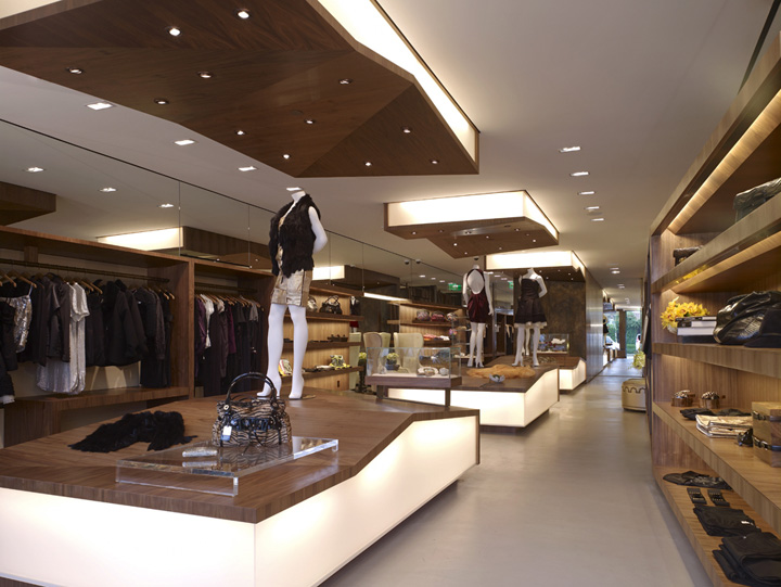 Cabinet space june 2012 - Interior design for retail stores ...