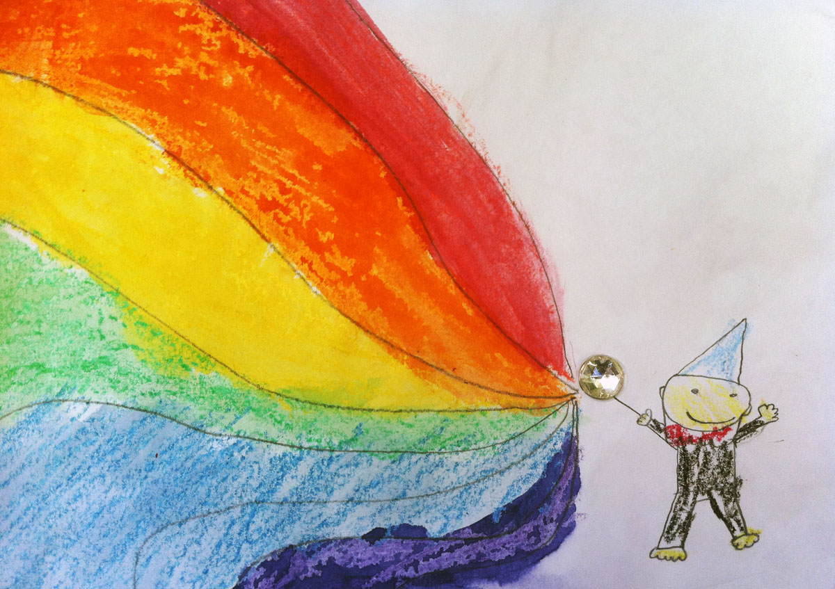 A Flash Of Inspiration Roy G Biv Is A Colorful Man And