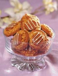 Kacang cokelat tumpuk