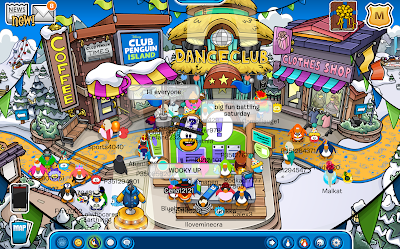 Club Penguin Waddle On Party 2017