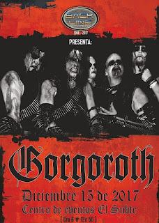 ¡GORGOROTH EN BOGOTÁ cierra 2017!