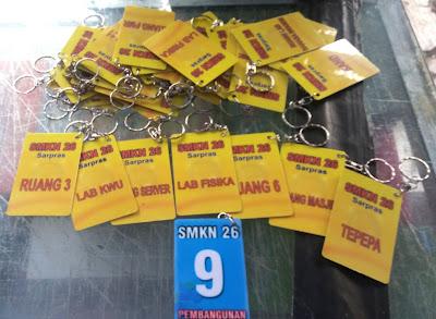 Gantungan Kunci ID Card Murah di Jakarta