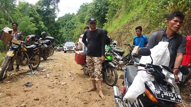 Longsor Susulan, Distribusi Bahan Pokok Warga di Latimojong Terganggu