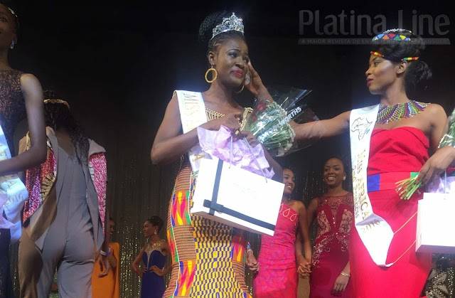 Rebecca Asamoah vence concurso Miss África 2016