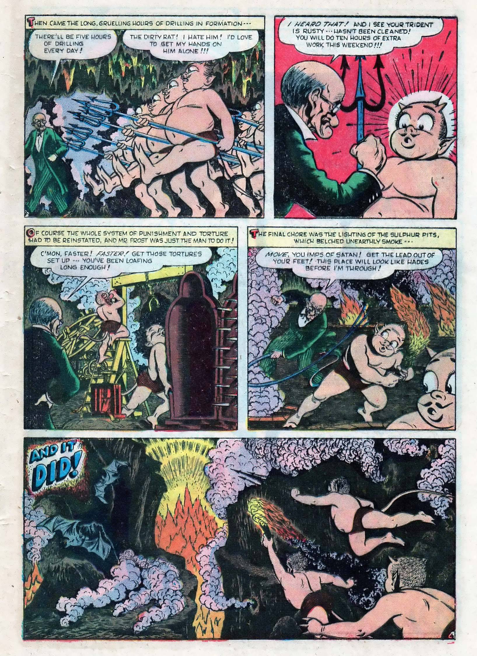 Read online Adventures into Weird Worlds comic -  Issue #10 - 30