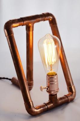 lámpara tubería