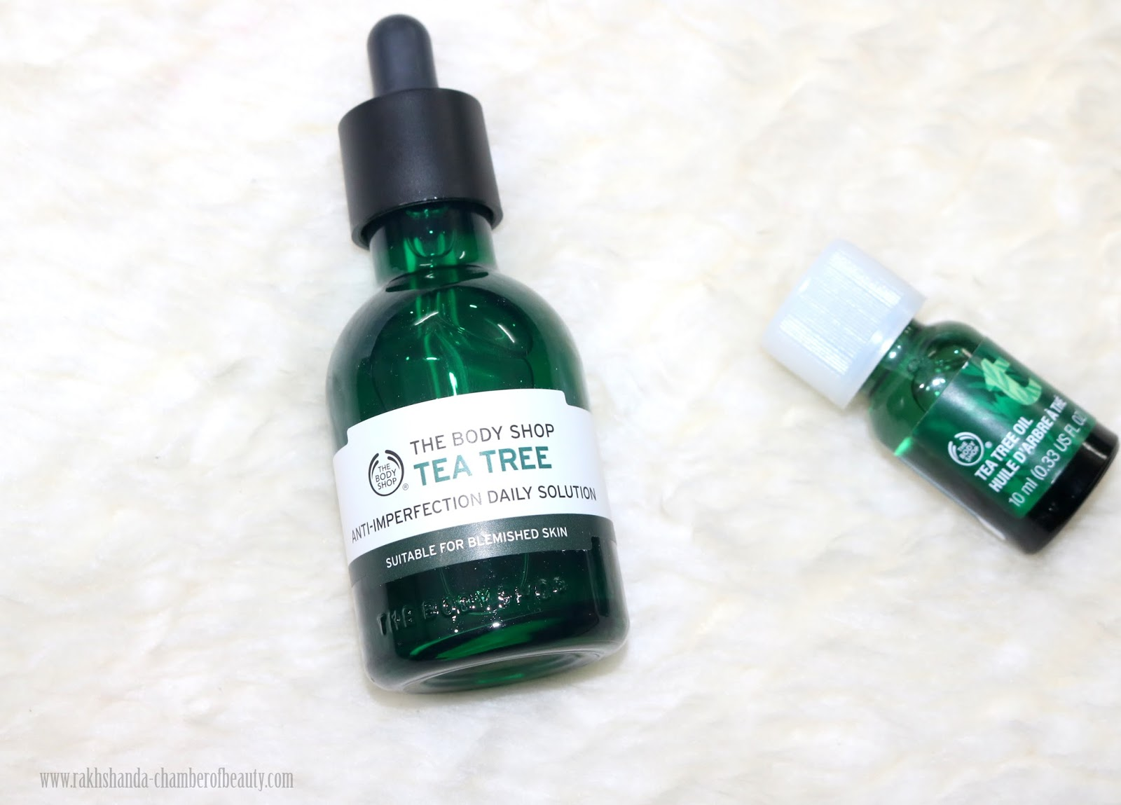 The Body Shop, Chamber of Beauty, Anti imperfection serum, The Body Shop Tea Tree Anti-imperfection Daily Solution, Indian beauty blogger,
