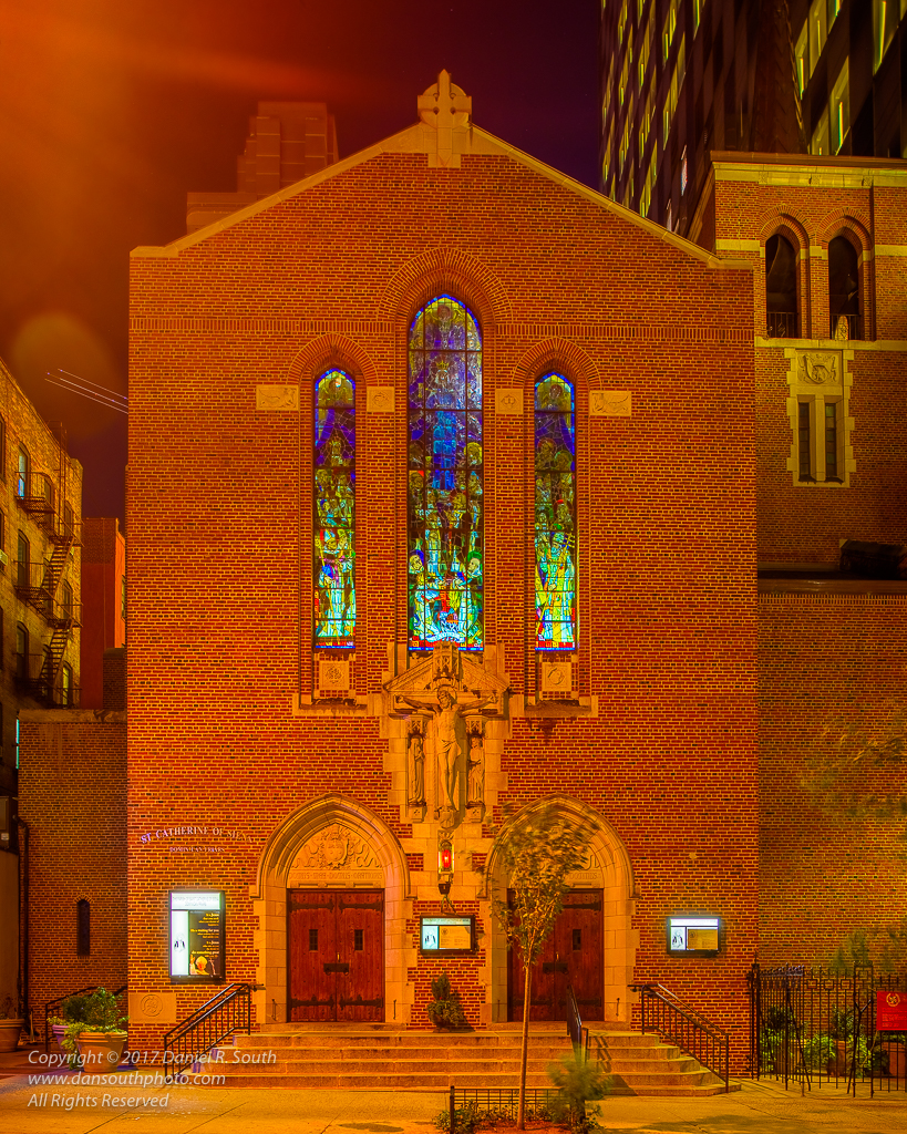 a photo of st catherine of siena church in new york