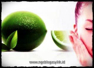 obat jerawat alami jeruk nipis