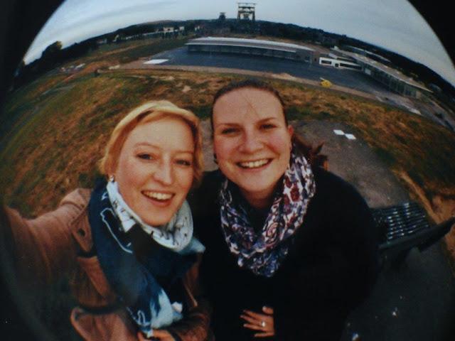 Dortmund Derne Zeche Gneisenau Schaukeln Reise Reisebericht Besuch Ruhrgebiet