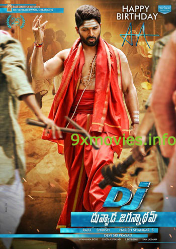 DJ Duvvada Jagannadham 2017 Hindi Dubbed 720p HDRip 850mb