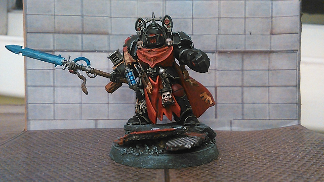 What's On Your Table Holiday Giveaway: Black Templars Redemptor and More.