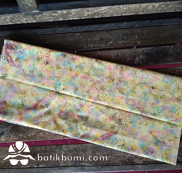Kain Batik Cap Motif Ganggang