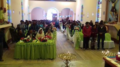 Die Kirche war mit 200 Gläubigen sehr gut gefüllt.