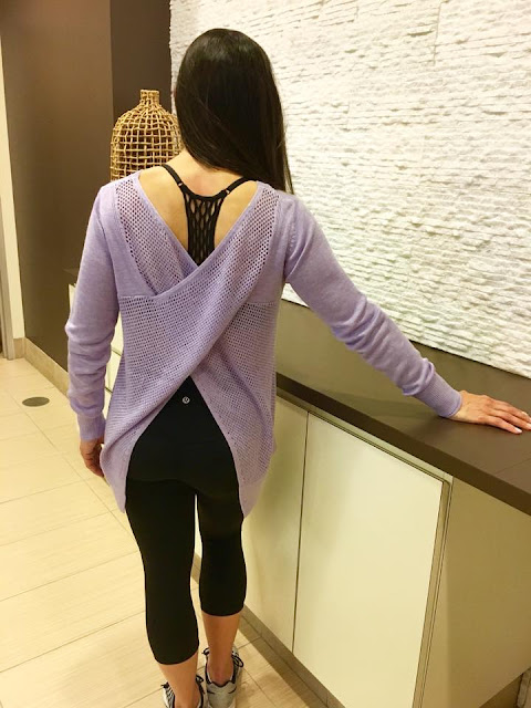 lululemon lilac-sunset-savasana-pullover-sweater align-crop