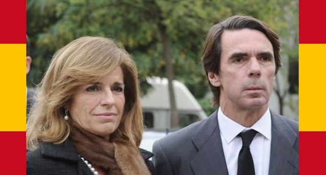 La empresa de Aznar y Botella reduce a cero sus ingresos tras la multa de Hacienda