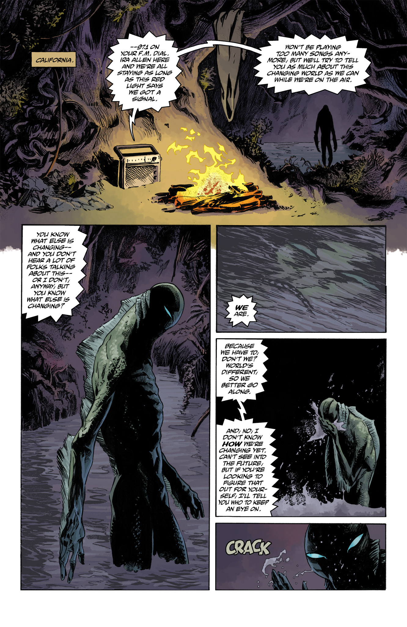 Read online Abe Sapien comic -  Issue #4 - 5
