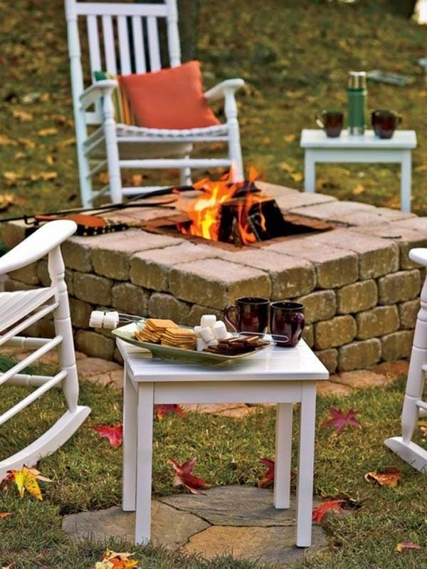 7.) Build a fire pit in the back yard. - These 29 Do-It-Yourself Backyard Ideas For Summer Are Totally Awesome. Definitely Doing #10!