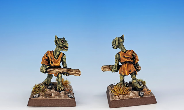 Long Neck, Citadel C27 Chaos Goblin Mutant, sculpted by the Perry Bros, 1984