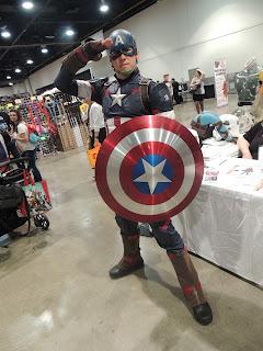 captain america dan glitch cospaly