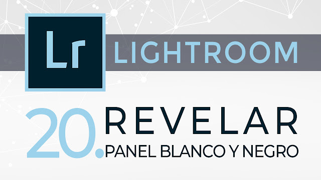 Curso de Lightroom - 20. Revelar - Panel Blanco y Negro