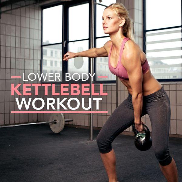 Lower Body Kettlebell Workout
