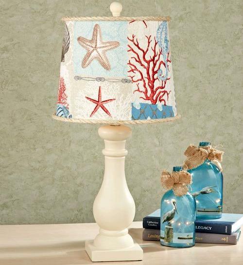 coastal beach nautical lamp shades