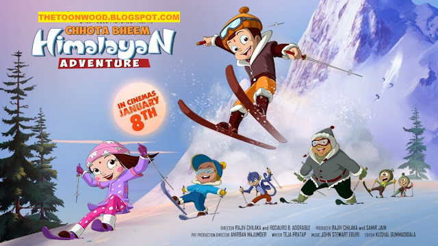 watch online and download Chhota Bheem Himalayan Adventure (2016) 720p Full Hindi Movie
