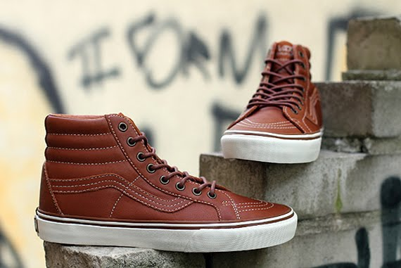 Vans California Sk8-Hi Reissue  Ginger Bread   144b72dd0e