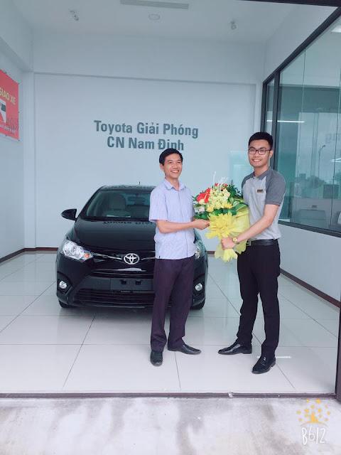 Lễ bàn giao xe Toyota Nam Định
