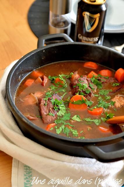 Ragoût-boeuf-Guinness -(Irish beef stew)