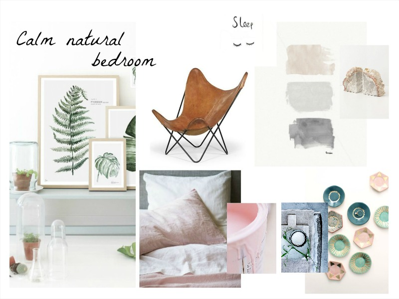 bedroom moodboard interiors