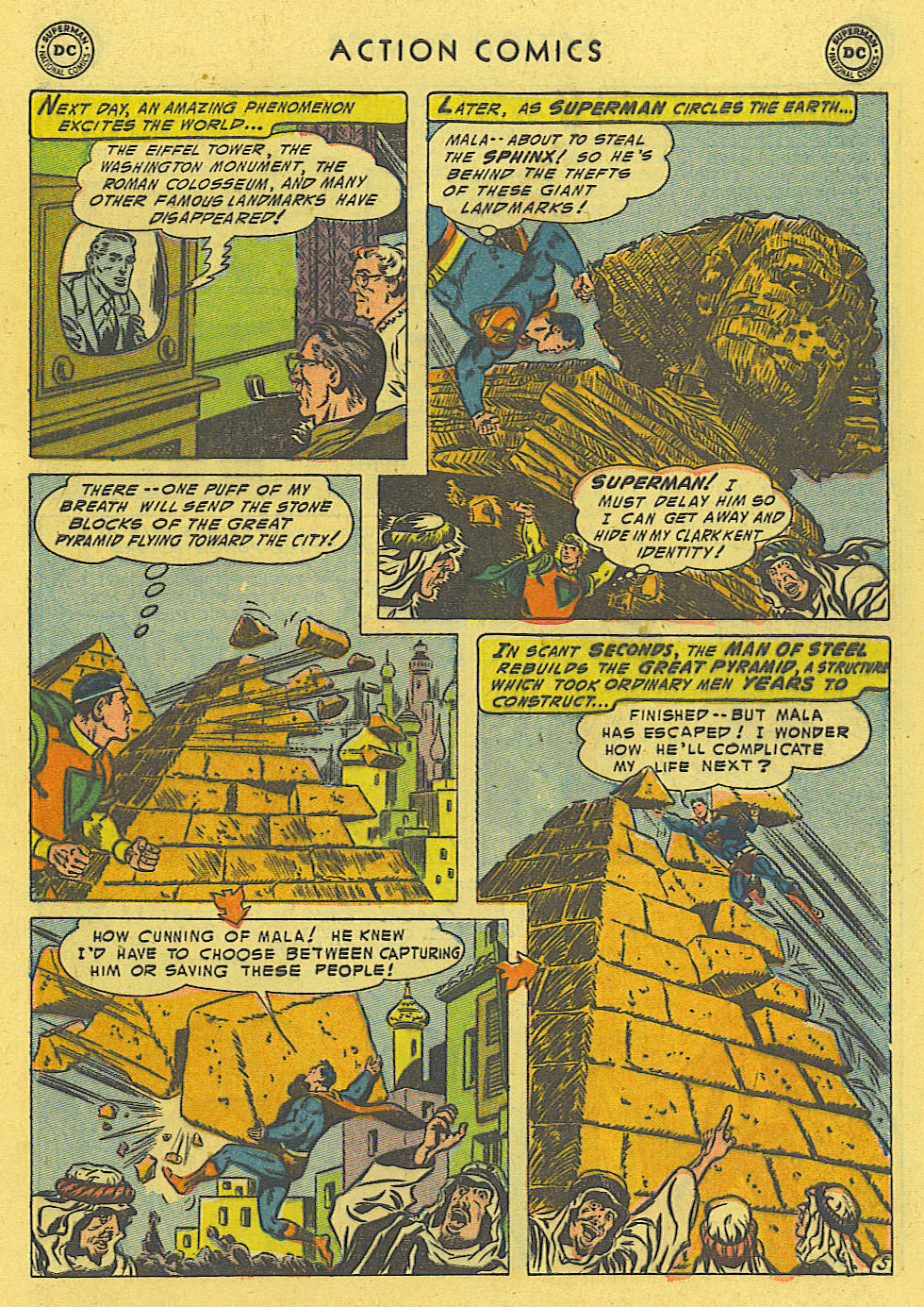 Read online Action Comics (1938) comic -  Issue #194 - 6