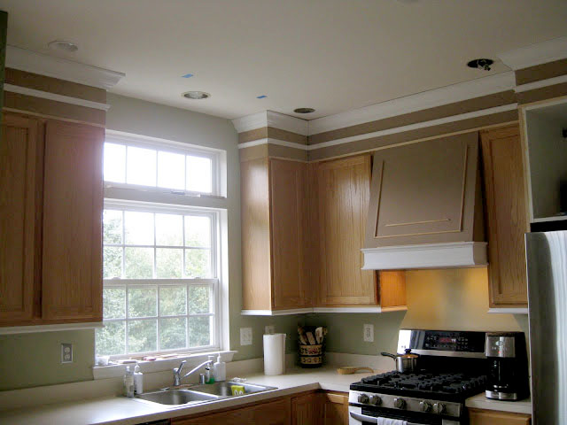 kitchen c cabinets on line closing the space above remodelando la casa how to add moldings your